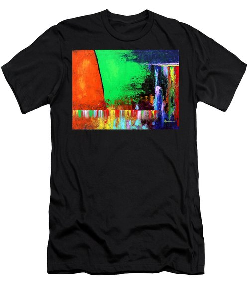 Happiness Men's T-Shirt (Slim Fit) by Kume Bryant