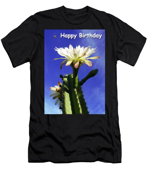 Happy Birthday Card And Print 11 Men's T-Shirt (Athletic Fit)