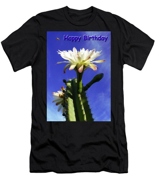 Happy Birthday Card And Print 12 Men's T-Shirt (Athletic Fit)