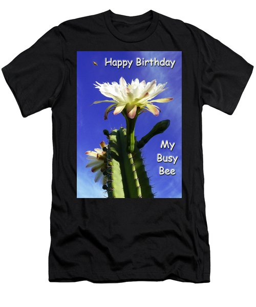 Happy Birthday Card And Print 14 Men's T-Shirt (Athletic Fit)