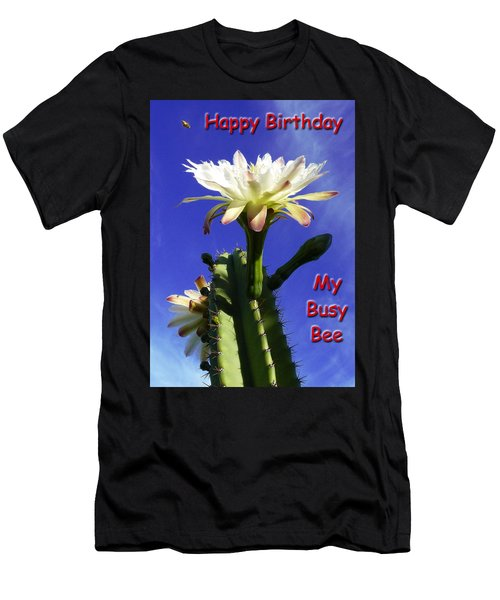 Happy Birthday Card And Print 15 Men's T-Shirt (Athletic Fit)
