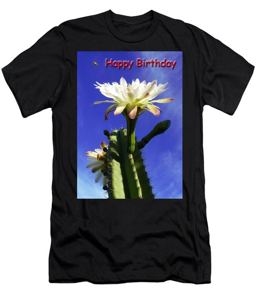 Happy Birthday Card And Print 16 Men's T-Shirt (Athletic Fit)