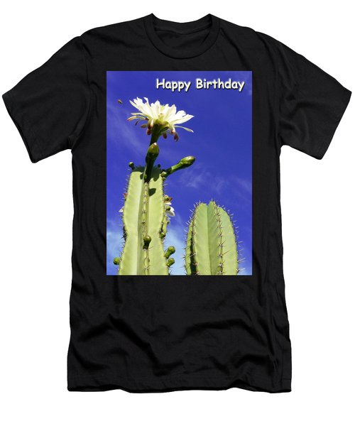Happy Birthday Card And Print 17 Men's T-Shirt (Athletic Fit)