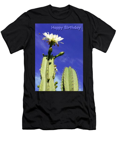 Happy Birthday Card And Print 19 Men's T-Shirt (Athletic Fit)