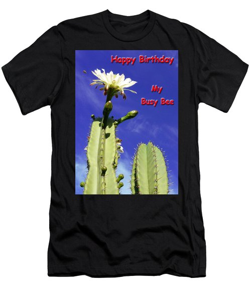 Happy Birthday Card And Print 21 Men's T-Shirt (Athletic Fit)