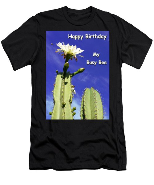 Happy Birthday Card And Print 22 Men's T-Shirt (Athletic Fit)