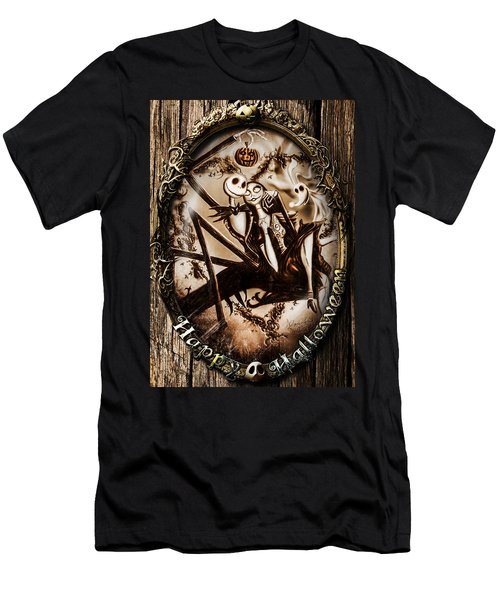 Happy Halloween IIi Sepia Version Men's T-Shirt (Athletic Fit)