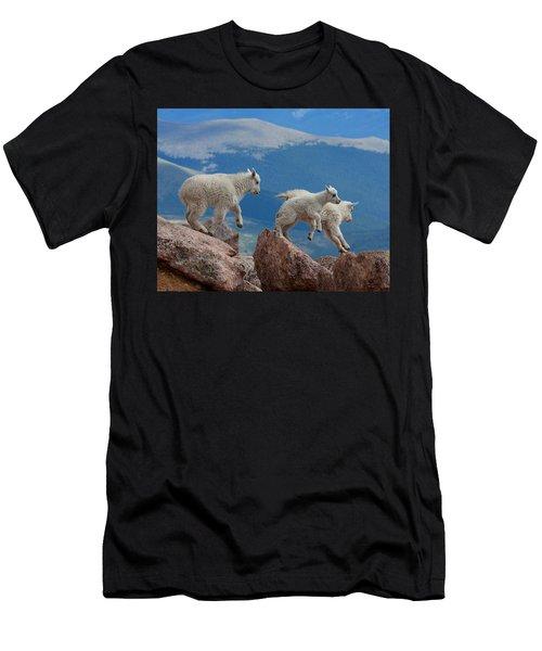 Happy Landing Men's T-Shirt (Athletic Fit)