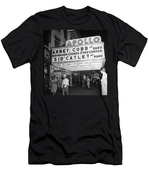 Harlem's Apollo Theater Men's T-Shirt (Athletic Fit)