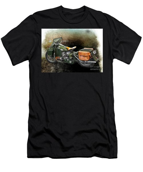 Harley Davidson 1942 Experimental Army Men's T-Shirt (Athletic Fit)