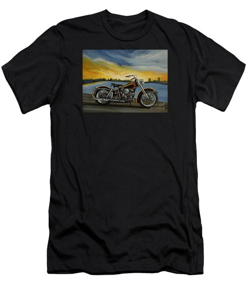 Harley Davidson Duo Glide Men's T-Shirt (Athletic Fit)