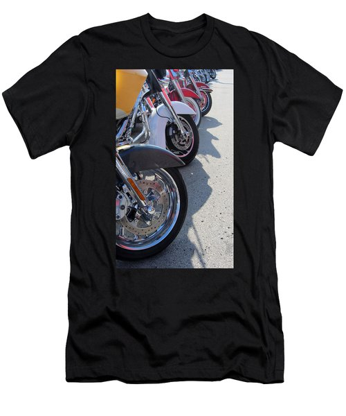 Harley Line Up 1 Men's T-Shirt (Athletic Fit)