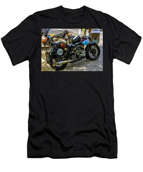 Harleys And Indians Men's T-Shirt (Athletic Fit)