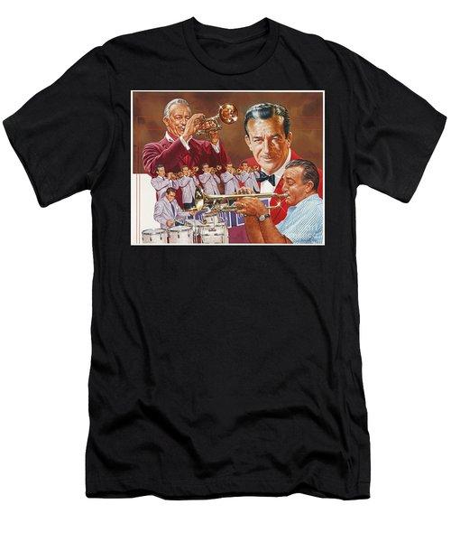 Harry James Trumpet Giant Men's T-Shirt (Athletic Fit)