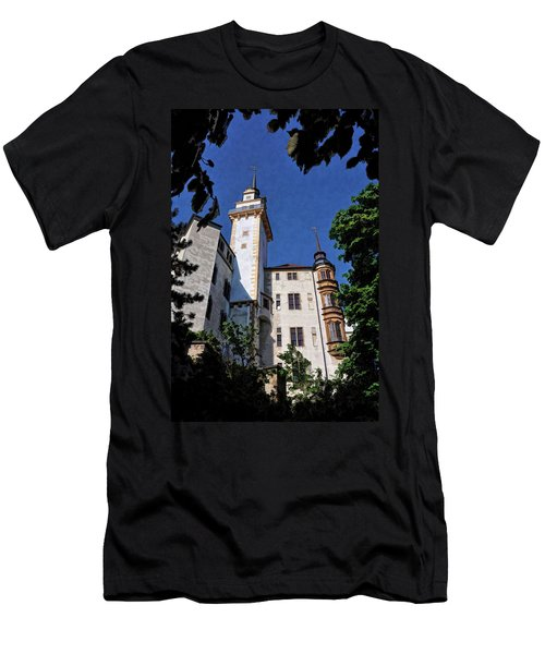 Hartenfels Castle - Torgau Germany Men's T-Shirt (Athletic Fit)