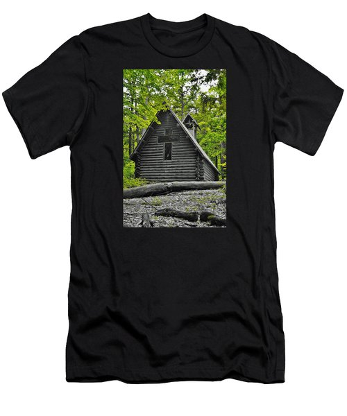 Hartwick Pines Chapel Bwg Men's T-Shirt (Athletic Fit)