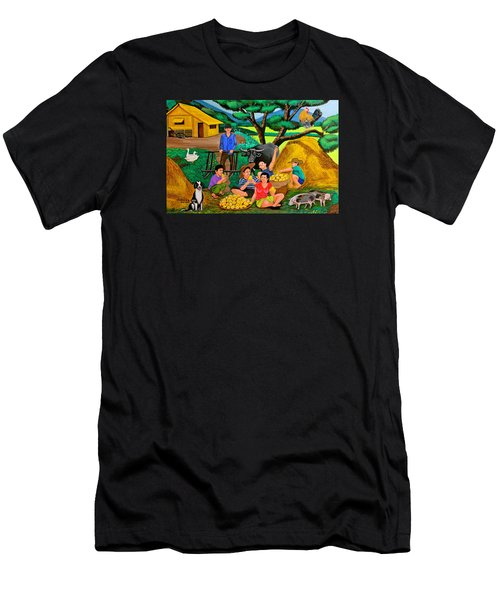 Harvest Time Men's T-Shirt (Athletic Fit)