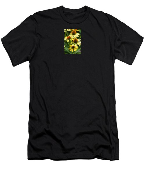 Harvest Moon Conehead Flower Men's T-Shirt (Athletic Fit)