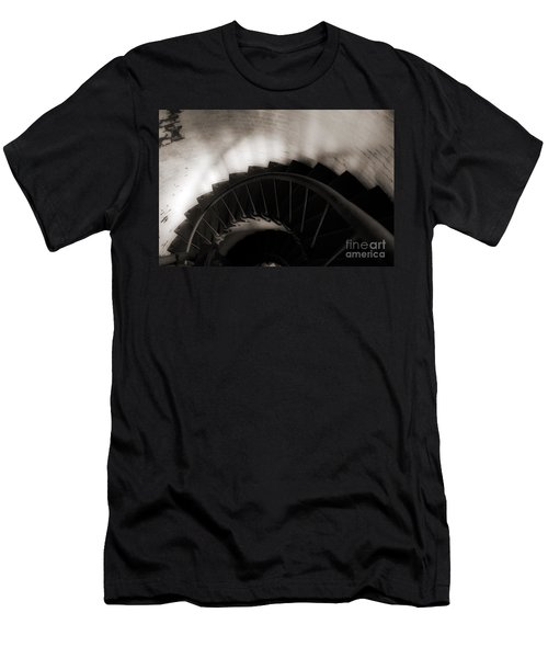 Men's T-Shirt (Slim Fit) featuring the photograph Hatteras Staircase by Angela DeFrias