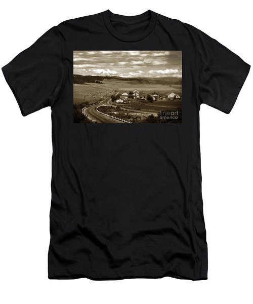 Hatton Ranch Carmel Valley From Highway One California  1945 Men's T-Shirt (Athletic Fit)