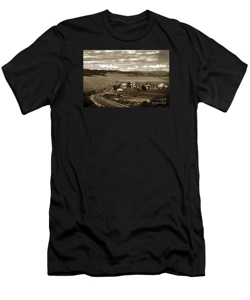 Hatton Ranch Carmel Valley From Highway One California  1940 Men's T-Shirt (Athletic Fit)