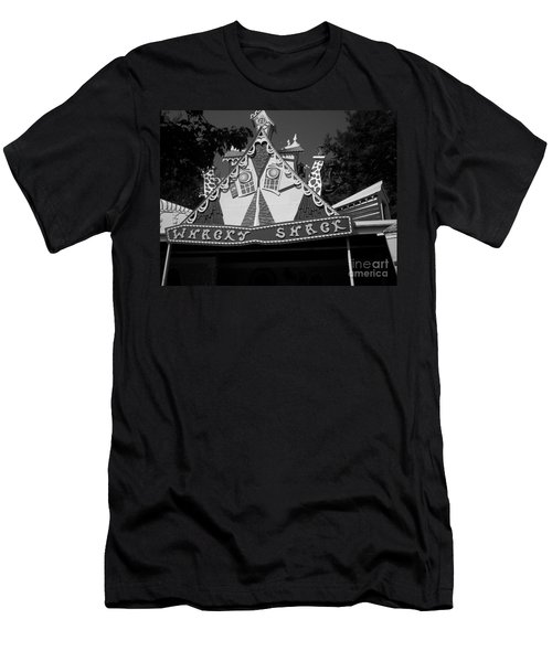 Men's T-Shirt (Slim Fit) featuring the photograph Haunted House by Michael Krek