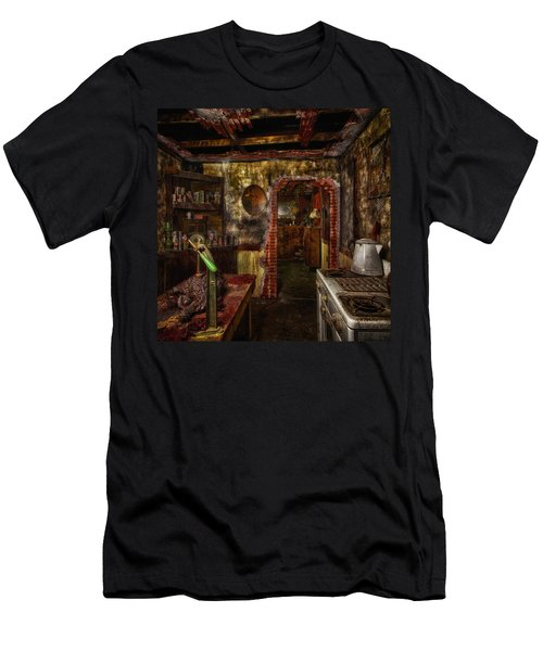 Haunted Kitchen Men's T-Shirt (Athletic Fit)