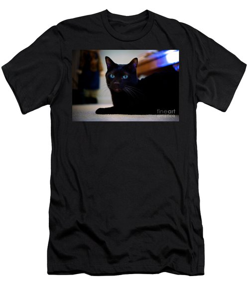Havana Brown Cat Men's T-Shirt (Athletic Fit)
