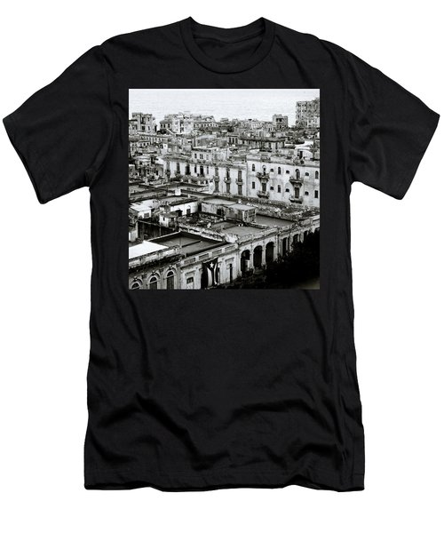 Havana City Men's T-Shirt (Slim Fit) by Shaun Higson