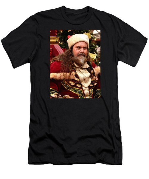 Have You Been Naughty Men's T-Shirt (Slim Fit) by Nadalyn Larsen
