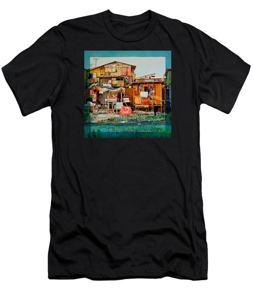 House Of Reused Building Materials Men's T-Shirt (Athletic Fit)