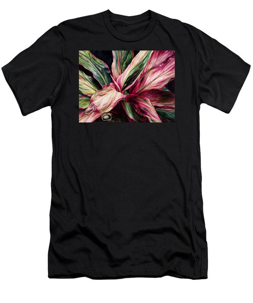 Hawaiian Prayer Men's T-Shirt (Athletic Fit)