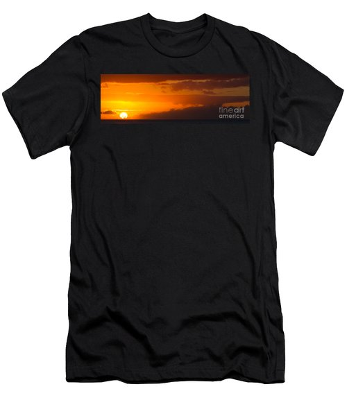 Hawaiian Sunset Men's T-Shirt (Athletic Fit)