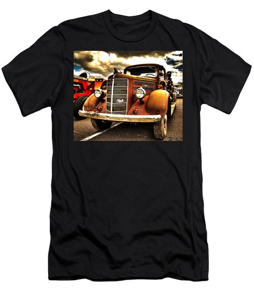Hdr Fire Truck Men's T-Shirt (Athletic Fit)