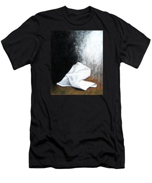 He Is Risen Men's T-Shirt (Slim Fit) by Kume Bryant