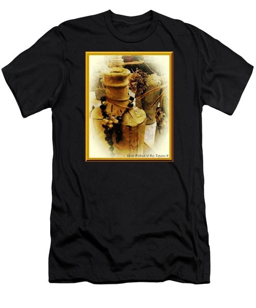 He Turned Water Into Wine Men's T-Shirt (Athletic Fit)