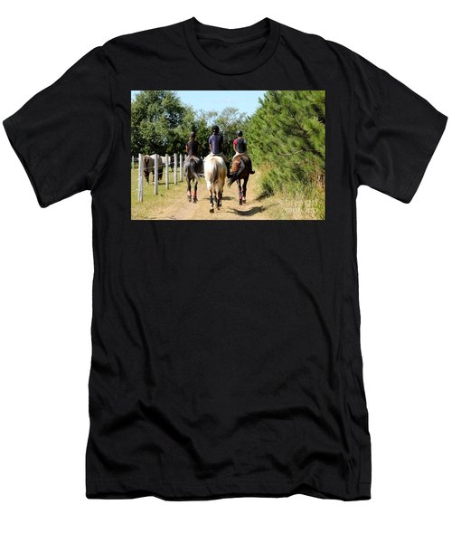 Heading To The Cross Country Course Men's T-Shirt (Athletic Fit)