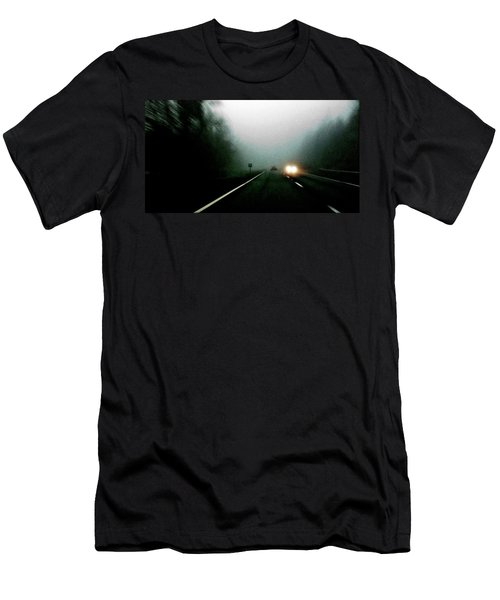 Headlights Men's T-Shirt (Athletic Fit)