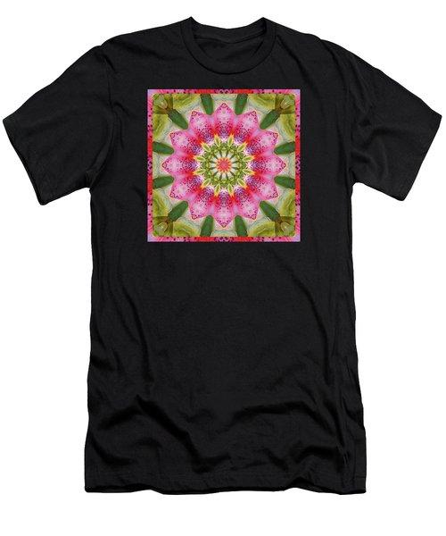 Healing Mandala 25 Men's T-Shirt (Athletic Fit)