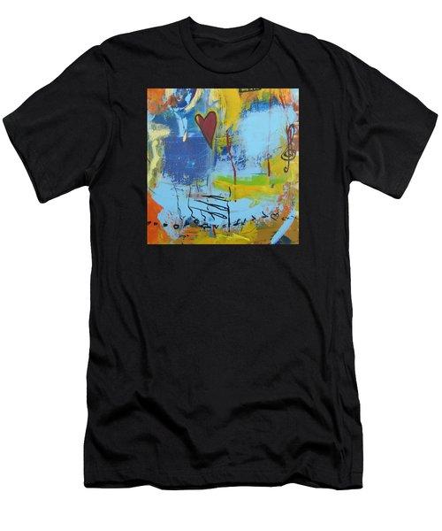 Heart 3 Men's T-Shirt (Athletic Fit)