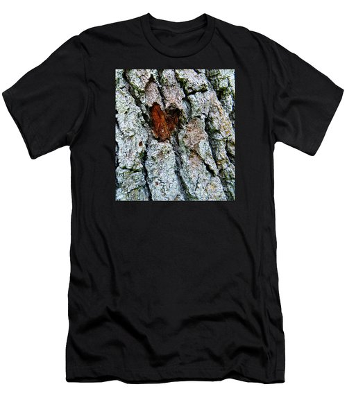 Heart Wood Men's T-Shirt (Slim Fit) by Joy Hardee
