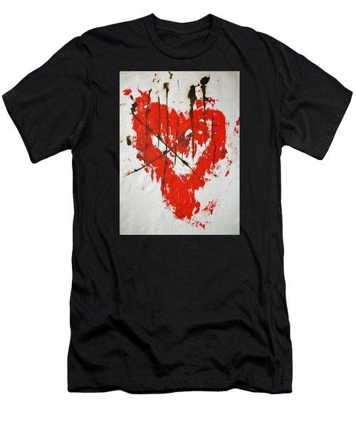 Heart Flash Men's T-Shirt (Athletic Fit)