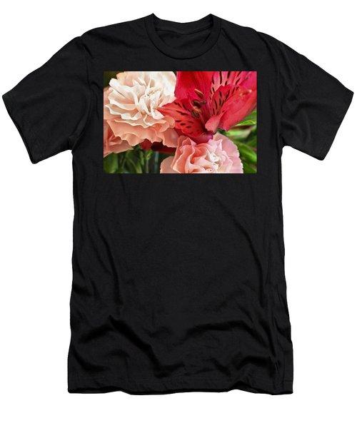 Heart's A Flutter Men's T-Shirt (Athletic Fit)