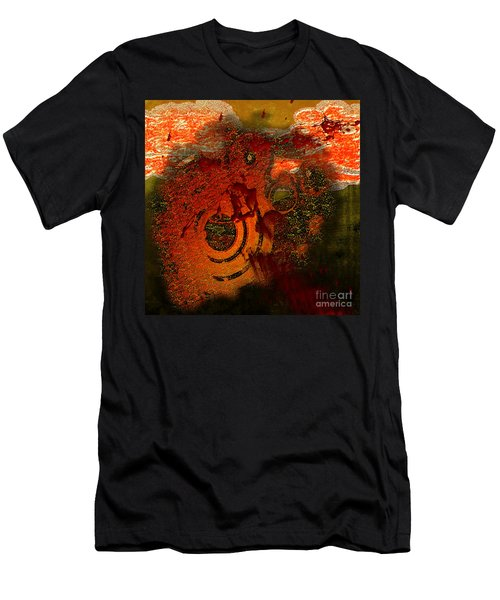 Men's T-Shirt (Athletic Fit) featuring the digital art Heat Of Battle by Clayton Bruster