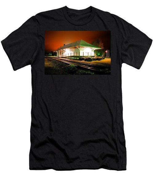 Heath Springs Depot Men's T-Shirt (Athletic Fit)