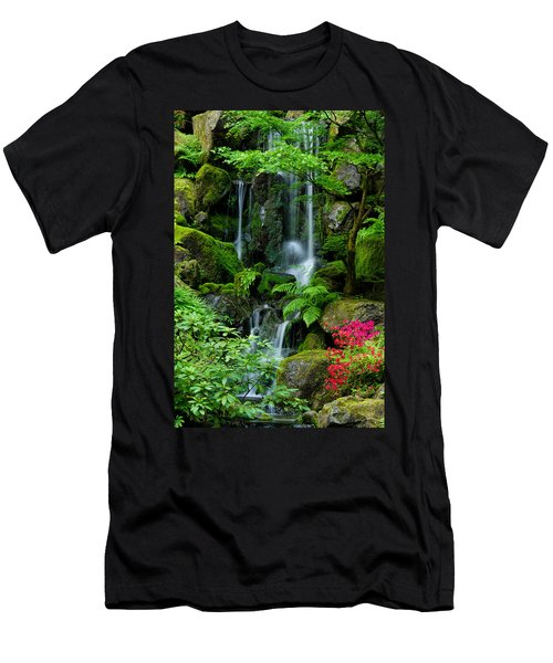 Heavenly Falls Serenity Men's T-Shirt (Slim Fit) by Don Schwartz