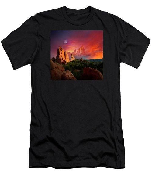 Heavenly Garden Men's T-Shirt (Athletic Fit)