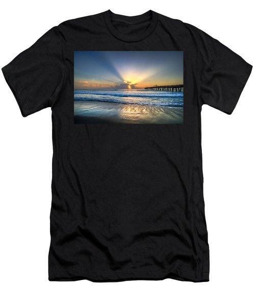 Men's T-Shirt (Athletic Fit) featuring the photograph Heaven's Door by Debra and Dave Vanderlaan