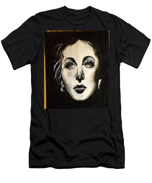 Men's T-Shirt (Slim Fit) featuring the painting Hedi by Sandro Ramani