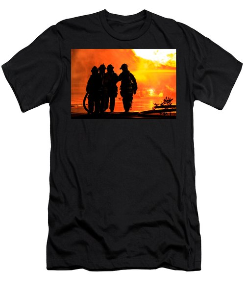Hell Is For Hero's Men's T-Shirt (Slim Fit) by Sennie Pierson